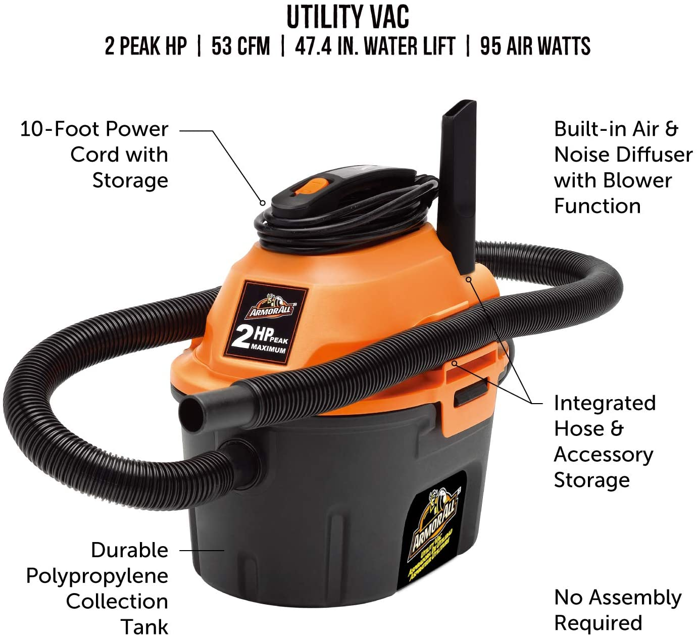 Armor All AA255 Vacuum Cleaner